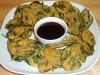 Crispy Spinach Pakoras