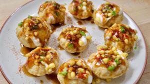 Dahi Puri Chaat (Street Food)