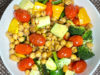 Grilled Veggie Healthy Bowl (Air Fryer Recipe)