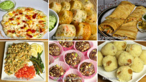 Favorite Healthy Snacks by Manjula