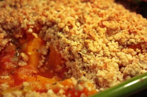 Butternut Squash & Almond Baked Crumble