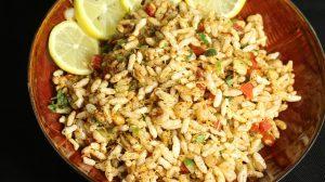 Jhaal Muri - Kolkata Puffed Rice Snack