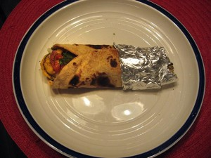 Eggplant Roti Wrap