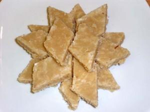 Kaju Burfi (Cashew Fudge)