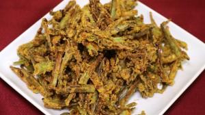 Kurkuri Bhindi (Spicy Crispy Okra)