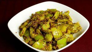 Masala Bell Pepper (Capsicum)
