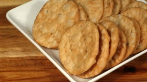 Masala Mathri - Spicy Crackers