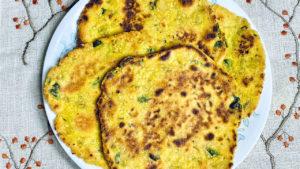Methi Bajra Paratha (Millet Gluten Free and Vegan Bread)