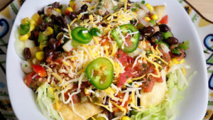 Mexican Bhel (Indian Fusion Street Food)