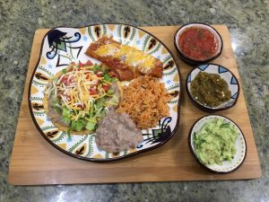 Family Dinner With Mexican Cuisine