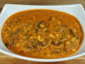 Mushroom Corn Cashew Curry