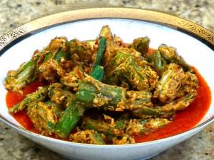 Okra Tomato Curry
