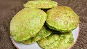 Palak (Spinach) Puri