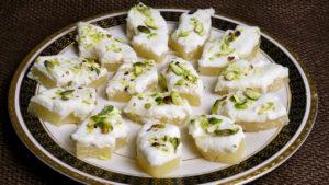 Pineapple Sandesh (Bengali Sweet)