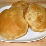 Puri (Flat Bread) Recipe by Manjula