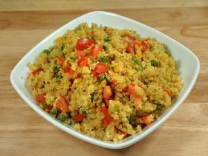 Quinoa Vegetable Pilaf (Pulav)