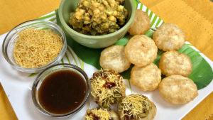 Ragda Puri Chaat