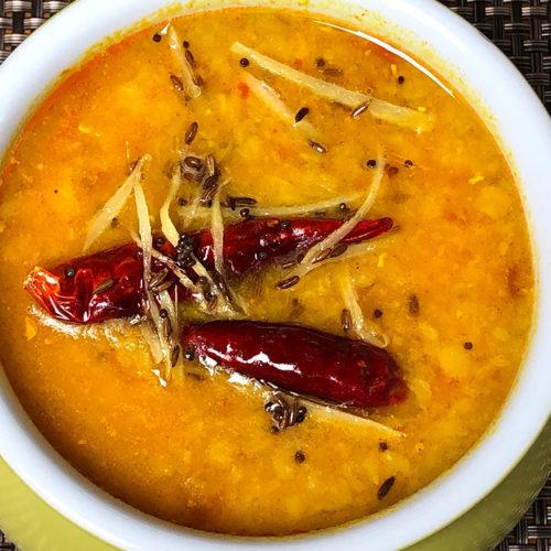 Red Lentil Dal (Instant Pot Recipe)