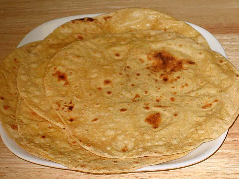Roti, Chapati (Flat Indian Bread)