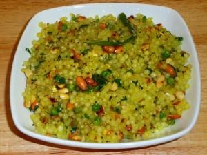 Sabudana Khichdi (Spicy Tapioca)