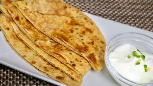 Sattu Paratha recipe by Manula