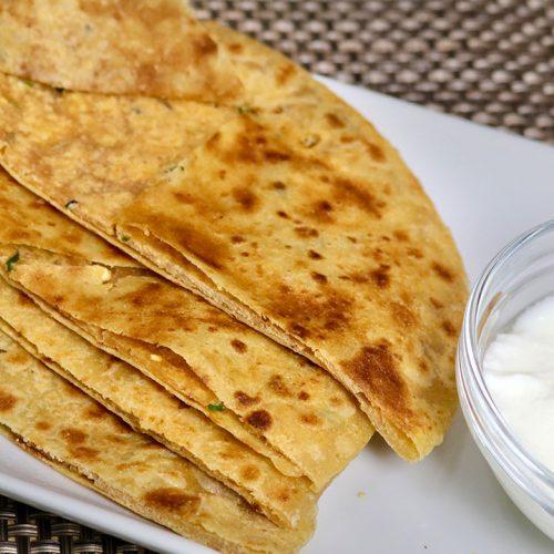 Sattu Paratha recipe by Manula