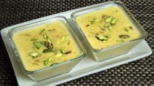 Shahi Kheer - Makhana Pudding