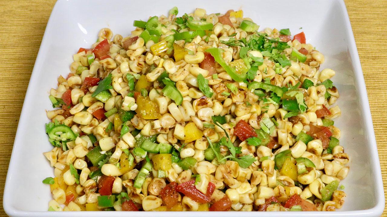 Hot Corn Salad Recipe