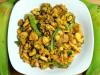 Kache Kele Ki Sabji, Spicy Plantain, Raw Banana Sabji