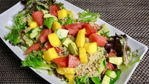 Spring Quinoa Fruit Salad