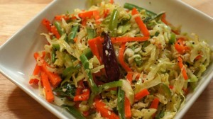 Stir-Fry Cabbage Salad