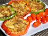 Stuffed Bell Peppers (Stuffed Capsicum)