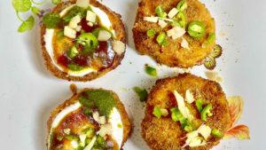 Sweet Potato Chaat (Shakarkandi)