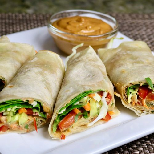 Learn how to make Vegetable Kathi Roll recipe by Manjula