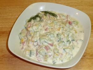 Vegetable Raita (Yogurt)