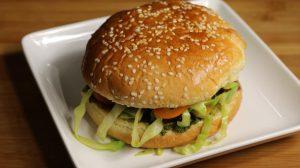 Veggie Burger (kala Chana Burger)