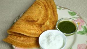 Whole Wheat Dosa (Atta Ka Cheela)