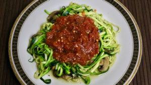 Zucchini Pasta, delicious vegan and gluten free pasta, Zucchini Noodles